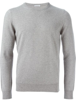 Crew Neck Sweater by Manipur in Arrow