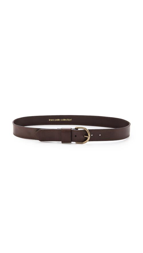 Classic Leather Belt by Linea Pelle in Warm Bodies