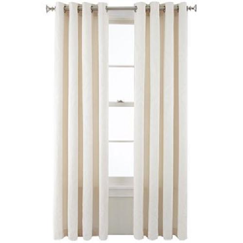 Whittier Grommet-Top Curtain Panel by Royal Velvet in Oculus