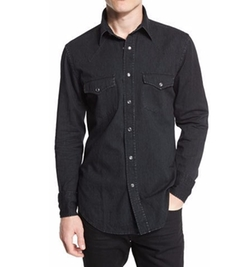 Western-Style Tailored Denim Shirt by Tom Ford in Lethal Weapon