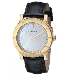 Acron Diamond-Accented Watch by Versace in Scandal