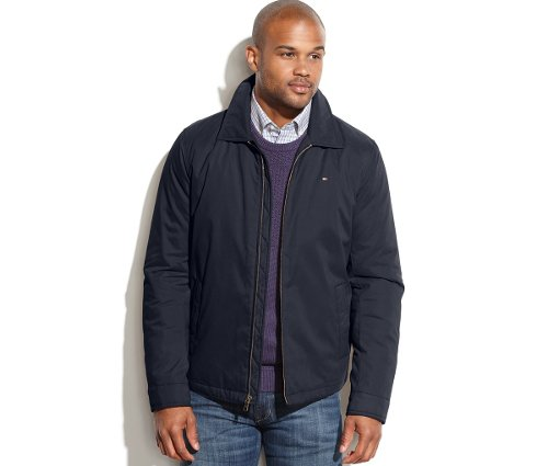 Full-Zip Microtwill Jacket by Tommy Hilfiger in Get Hard
