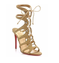 Amazoulo Suede Lace-Up Sandals by Christian Louboutin in Keeping Up With The Kardashians