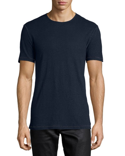 Crewneck Short-Sleeve Knit Tee by John Varvatos in Ashby