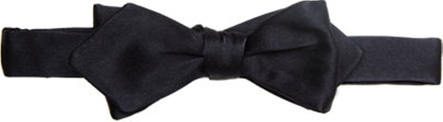 Satin Bow Tie by Drake's in Life