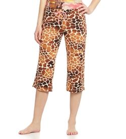 Giraffe Print Capri Pajamas by Jasmine + Ginger in Pitch Perfect 2