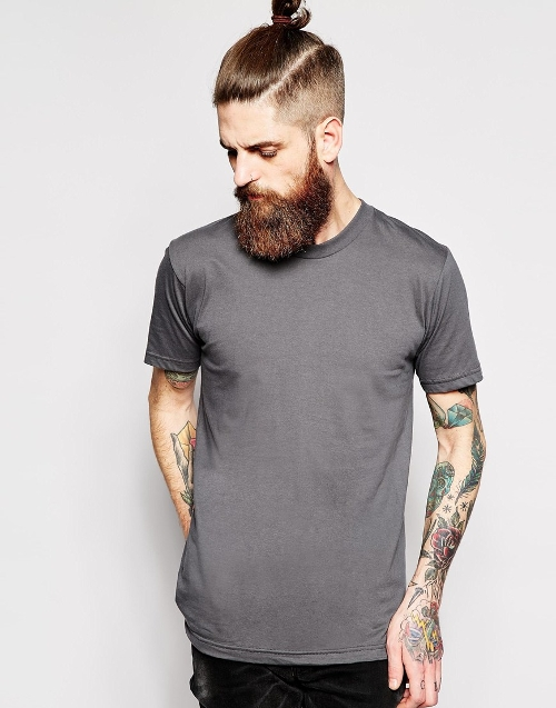 Crew Neck T-Shirt by American Apparel in Adult Beginners