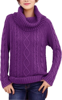 Ribbed Cable Knit Long Sweater by V28 in The Visit