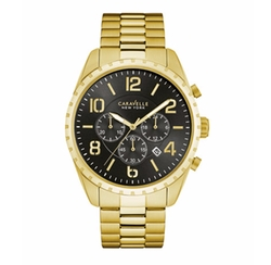 Chronograph Stainless Steel Bracelet Watch by Caravelle New York in Marvel's Luke Cage