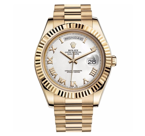 Day-Date II 2 President Watch by Rolex in Keeping Up With The Kardashians - Season 12 Episode 6