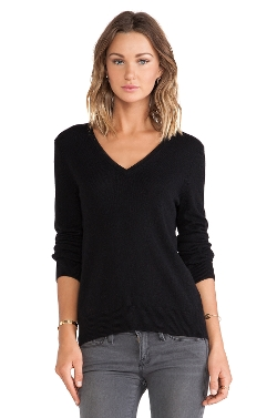 Cecile V Neck Sweater by Equipment in The Gift