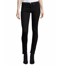 Brooke Mid-Rise Skinny Jeans by Veronica Beard in Power