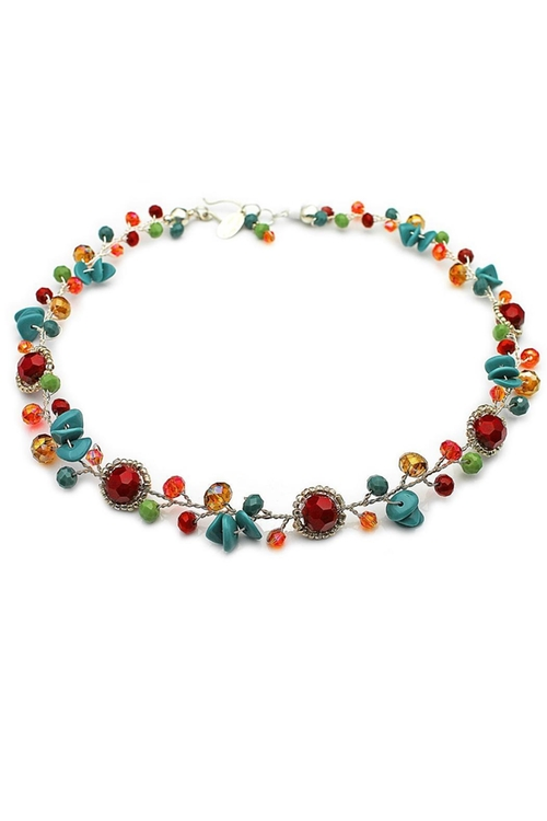 Multi-Color Necklace by NuraBella in The Mindy Project - Season 4 Episode 5