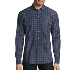 Plaid Button Front Shirt by Zachary Prell in Fifty Shades Darker
