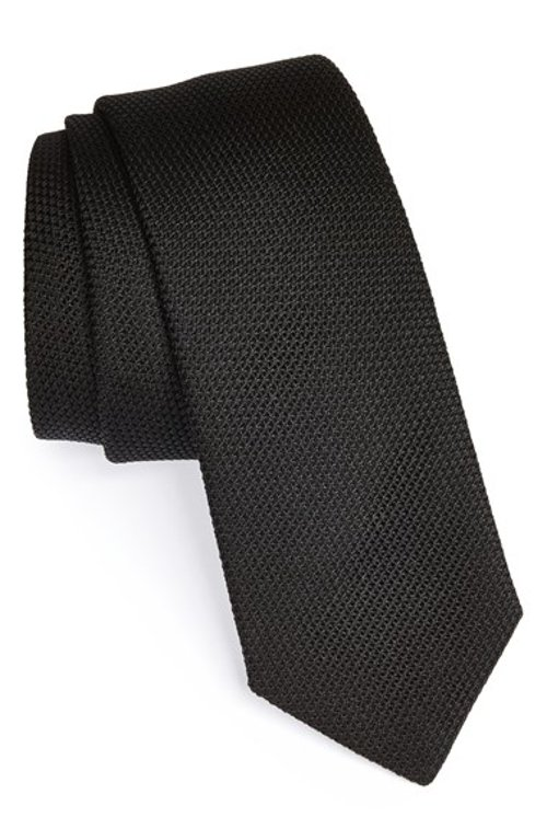 Knit Silk Tie by Yves Saint Laurent in Fifty Shades of Grey