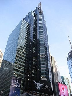 New York City, New York by Bertelsmann Building in Birdman