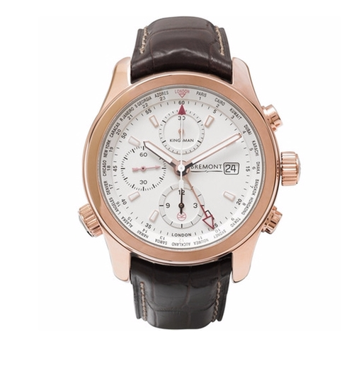 ALT1-WT/WH World Timer Automatic Chronograph Watch by Kingsman + Bremont in Kingsman: The Secret Service