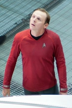 Custom Made Scotty Tunic Uniform by Sanja Milkovic Hays (Costume Designer) in Star Trek Beyond