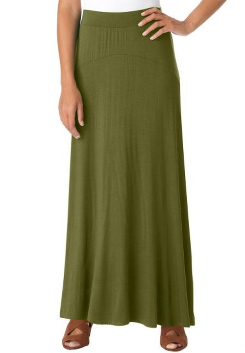 Women's Maxi Skirt by Jessica London in Wet Hot American Summer