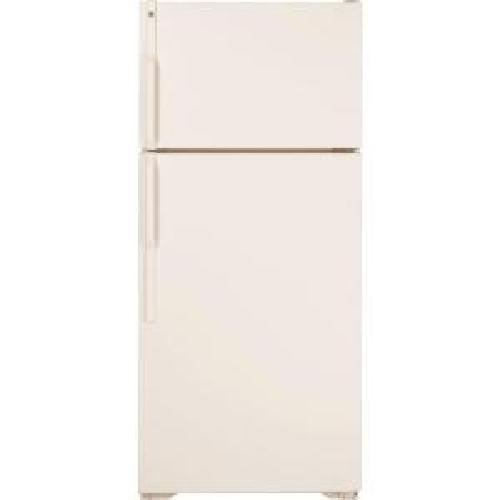 Top Freezer Refrigerator in Bisque by GE in Vampire Academy