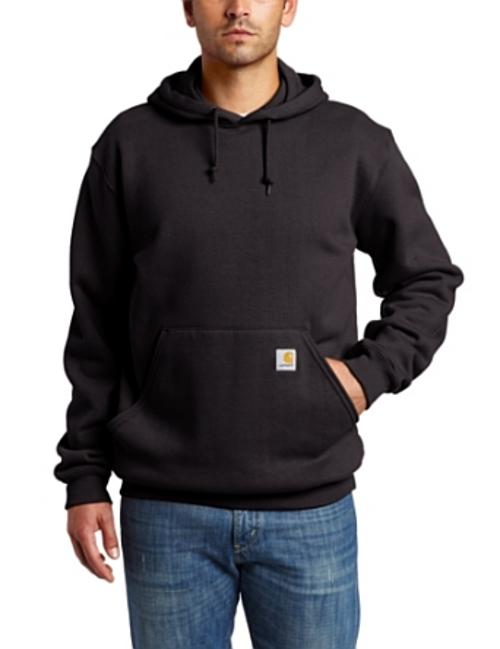 Men's Midweight Hooded Pullover Sweatshirt by Carhartt in Brick Mansions