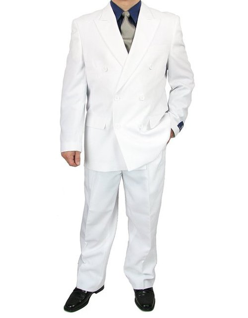 Sharp 2-Piece Double Breasted Dress Suit by Triple Blessings in Only God Forgives