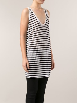 Striped Tank Top by T By Alexander Wang in Steve Jobs