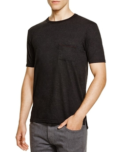Heathered Pocket T-Shirt by Goodlife  in Billions