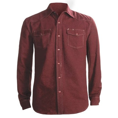 Chet Western Shirt by Dakota Grizzly in Crazy, Stupid, Love.