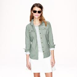 Military Pocket Shirt by J.Crew in If I Stay