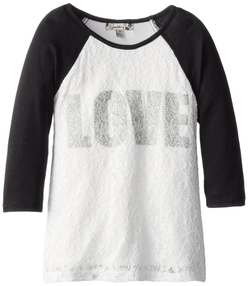Big Girls' Lace Raglan Top by Speechless in Paper Towns