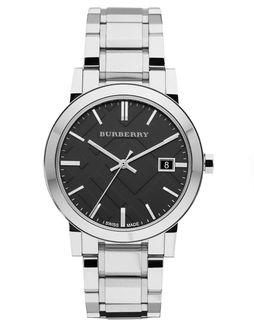 Mens Stainless Steel Watch by Burberry in The Gift