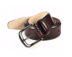 Burnished Leather Belt by Saks Fifth Avenue Collection in Supergirl