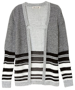 Stripe Open Cardigan by Olive+Oak in Secret in Their Eyes