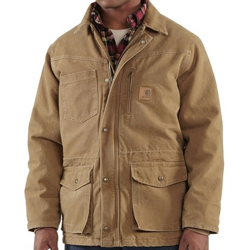 Rancher Sandstone Coat by Carhartt in The Flash - Season 2 Episode 1