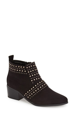 'Buddy' Studded Booties by Topshop in Fuller House