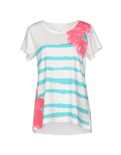 Stripes Short Sleeve T-Shirt by Cat's Tsumori Chisato in Begin Again