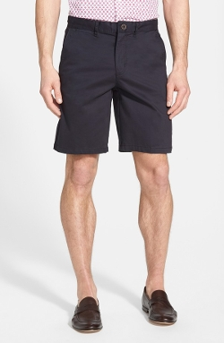 Stretch Cotton Chino Shorts by Bugatchi in Magic Mike XXL