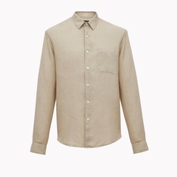 Relaxed Linen Shirt by Theory in American Assassin