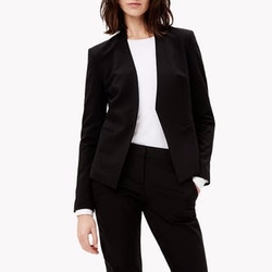 Stretch Wool Open Jacket by Theory in Designated Survivor