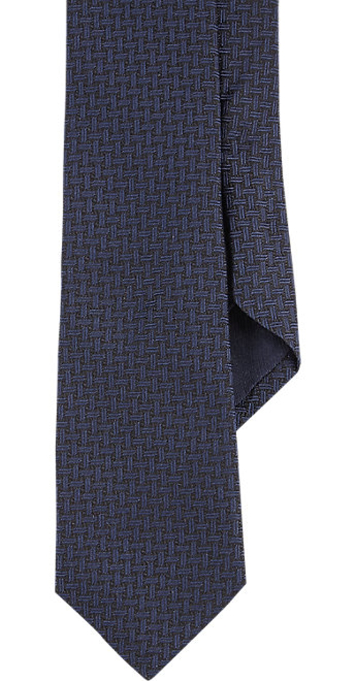 Weave-Pattern Jacquard Neck Tie by Barneys New York in Sinister 2
