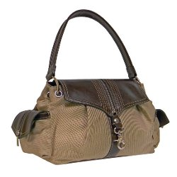'Junko' Nylon Canvas Satchel Bag by Rina Rich in The Best of Me