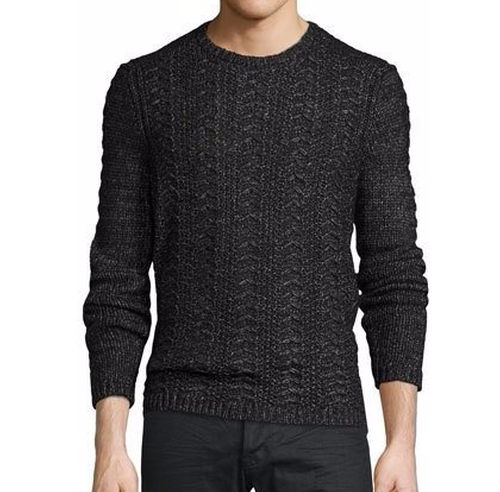 Cable-Knit Crewneck Sweater by John Varvatos Star USA  in The Bourne Legacy