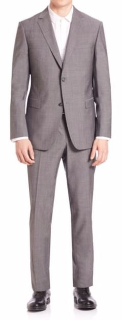 Two-Piece Suit by Z Zegna in Bleed for This