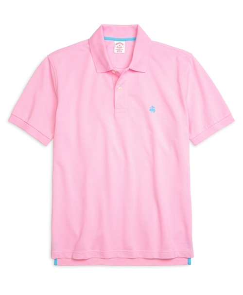 Golden Fleece Original Fit Performance Polo Shirt by Brooks Brothers in Scream Queens - Season 1 Episode 4