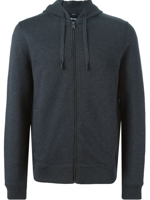 Zipped Hoodie by Boss Hugo Boss in The Mindy Project - Season 4 Episode 11