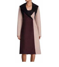 Runway Cibina Wool & Cashmere Colorblock Coat by Boss in Designated Survivor
