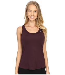 Emma Racerback Tank Top by Asics in Rosewood