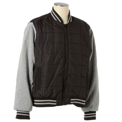 Quilted Varsity Jacket by Yoki in Kingsman: The Secret Service