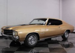 1972 Chevelle Malibu Car by Chevrolet in Drive